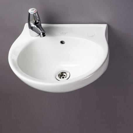 2 Tap Hole Washbasin (400mm wide)