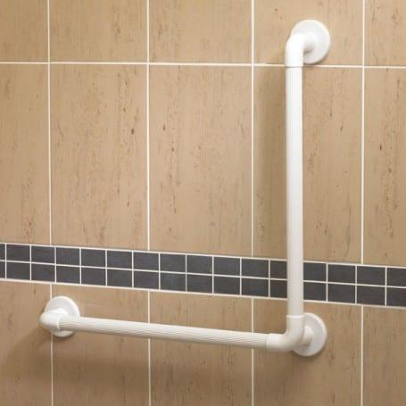Plastic fluted grab rails Angled 90 degrees