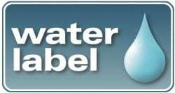 Water-label