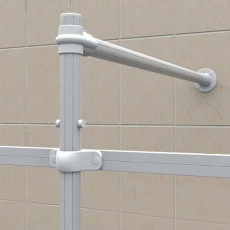 Curtain Rail Support Poles