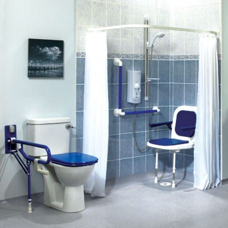 Wet Room Shower Curtains >> Shower Curtains White | AKW