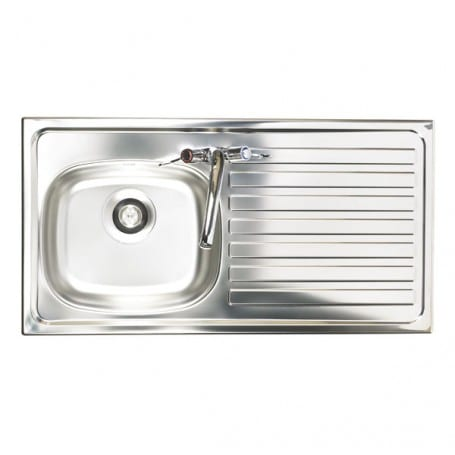 Monoblock Tap Sink – Bowl Depth 127mm