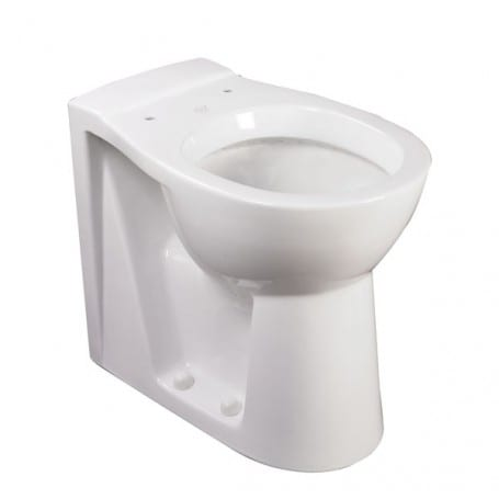 Raised Height Back to Wall Toilet Pan