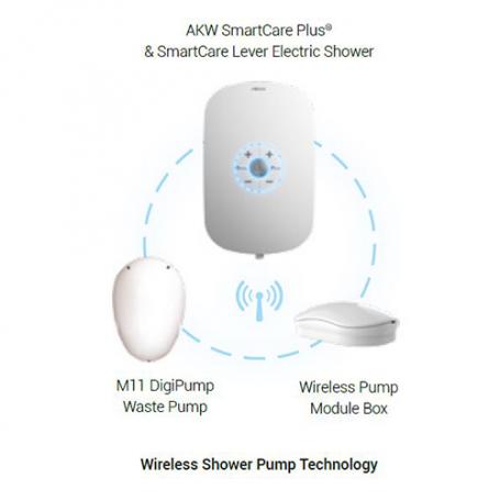 AKW Electric Showers Wireless Pump Module