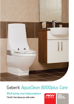 the geberit aquaclean 8000plus care offers customised comfort which is. Black Bedroom Furniture Sets. Home Design Ideas