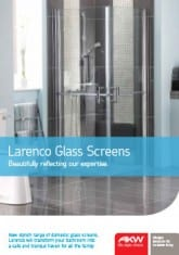 Larenco Single Sliding Glass Screens
