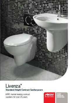 AKW Livenza Sanitaryware toilet basin