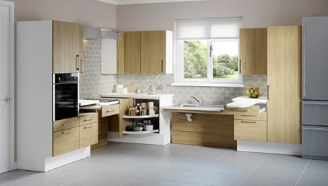Do you have a project or customer that needs an accessible kitchen? AKW Specialise in finding a solution