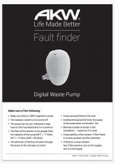 Digital Waste Pumps Fault Finder