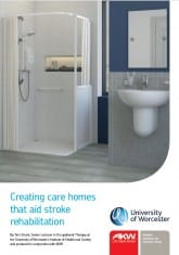 Creating care homes that aid stroke rehabilitation