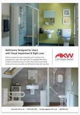 Bathrooms Designed for Users with Visual Impairment & Sight Loss