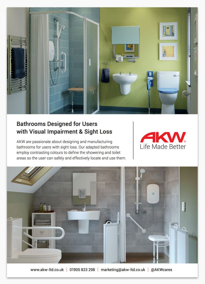Bathrooms Designed for Users with Visual Impairment & Sight Loss on small blue living room furniture, small blue bathroom vanity, small blue chairs, small blue beds, small blue bathroom storage, small blue dining room, small blue bedroom decorating ideas, small bathroom tub shower, small blue tile, small bathrooms with showers, small bathrooms without windows, small en-suite bathrooms designs ideas, small apartment bathroom, small blue bathroom decor, small blue kitchen, small compact bath tubs, small blue bathroom themes, small ensuite bathroom ideas, small blue bathroom decorating ideas, small space bathroom,