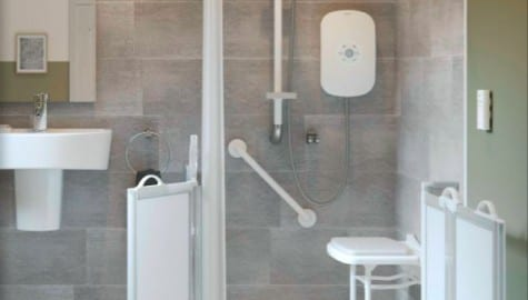 Case Study: NKS Contracts | Retrofitting social housing showers