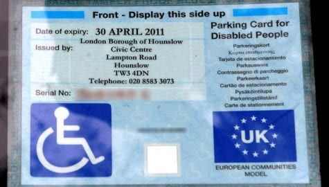 Blue Badge changes to benefit those with Hidden Disabilities