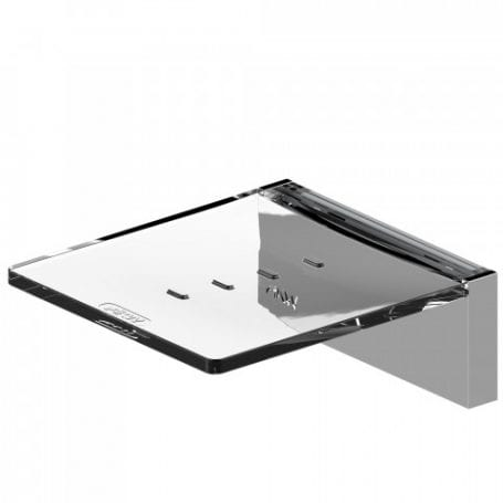 Onyx Soap Dish Chrome