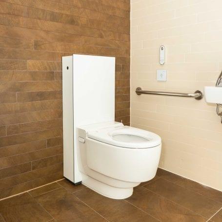 Geberit AquaClean Mera Care floor standing WC White Alpine