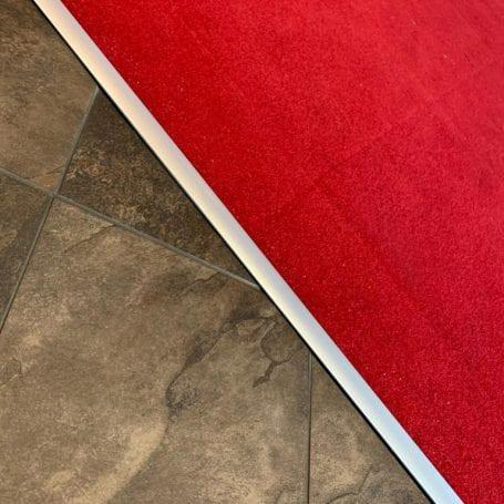 Flooring threshold strip